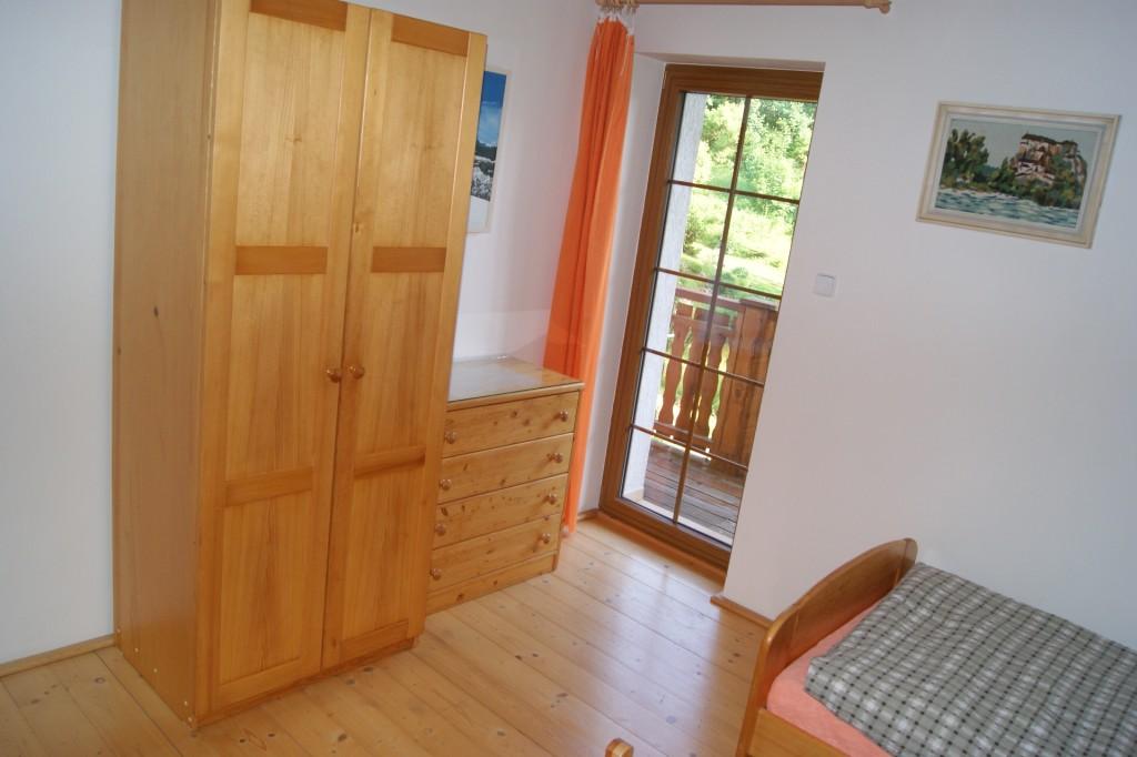 3-lůžková ložnice úložný prostor