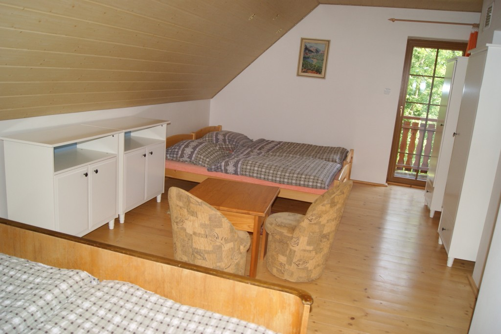 4-lůžková ložnice