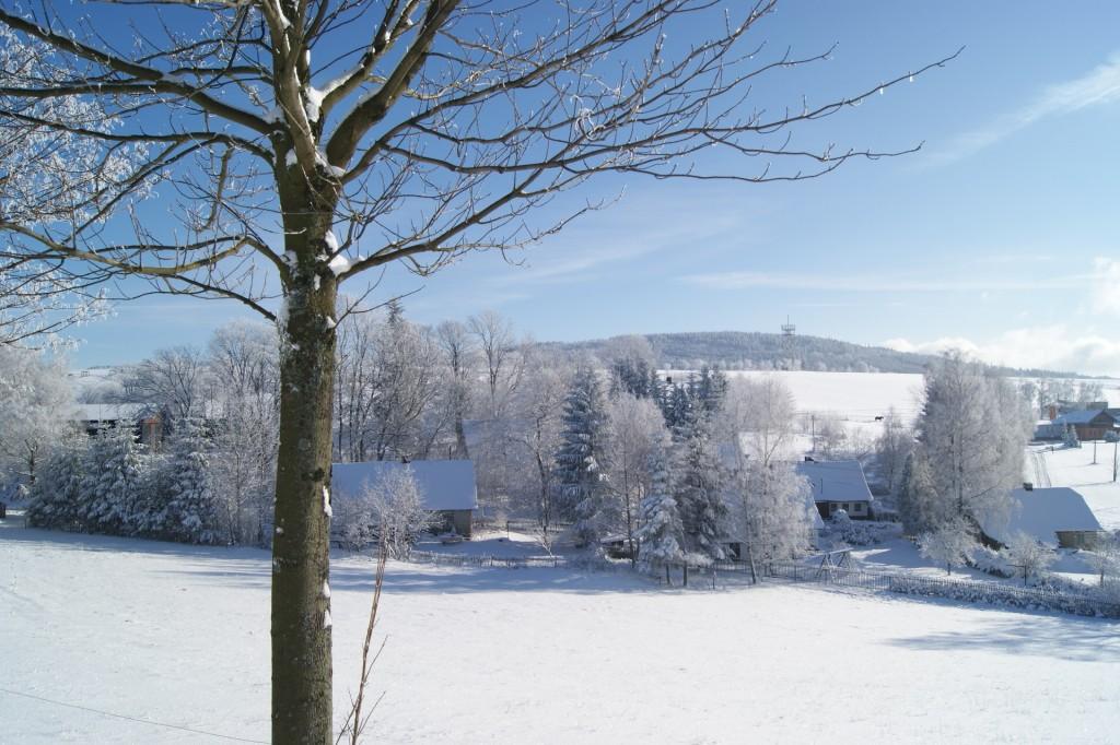Pohled na Val od hotelu